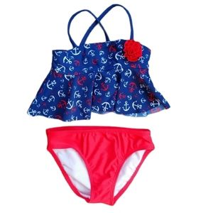 2-Piece Swimsuit, Nautical Theme